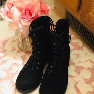 Rock & Candy Hurley combat boots 6